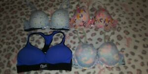 VS Pink Lot Of Bras 36d and Large