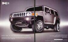 2007 2008 Hummer H3 2-page Advertisement Print Art Car Ad K79