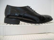 Men's FLORSHEIM Black Leather Oxfords Cap Toe Size 10D