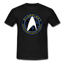 Star Trek Starfleet Logo Into Darkness Beyond T-shirt USA Size