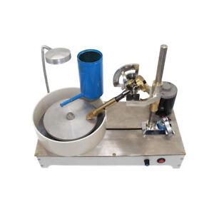 220V Gem Faceting Machine Jade Stone Angle Machine Jewelry Polisher Flat Grinder