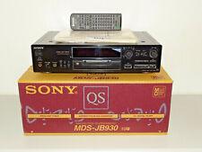 Sony MDS-JB930QS High-End MiniDisc Recorder Schwarz, OVP w.NEU, 2J. Garantie