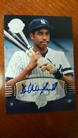 2004 DAVE WINFIELD  Auto /50  SP #216 UD Timeless Teams  Short Print  !
