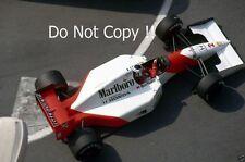 Gerhard Berger McLaren MP4/7A F1 Stagione 1992 foto 1