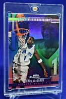 TRACY MCGRADY FLEER SHOWCASE RAINBOW REFRACTOR DUNKING SWEET SP ORLANDO MAGIC