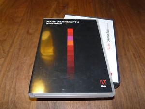 Adobe Creative Suite 4 CS4 Design Premium version française pour Mac Vollversion