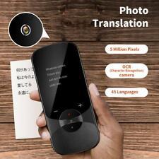 Language Translator Device Supports Offline Translation Audio Camera Translation