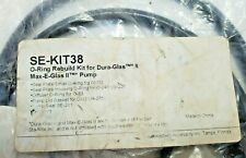 SE-KIT38 O-RING REBUILD KIT FOR DURA-GLASS MAX-E-GLASSII PUMP