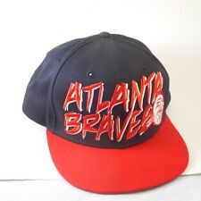 Atlanta Braves New Era Hat Cooperstown Collection Snap back, Embroidery, MLB