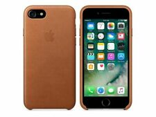 Original Apple iPhone 7 / 8 Leder Schutzhülle Case Cover Etui in Sattelbraun OVP