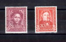 GERMANY 1949 Relief Fund 8+2 & 20+10 MLH HICV