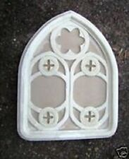 "Gothic frame mold plaster cement casting reusable 20"" x 15"" x 1"" thick"