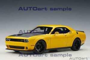 AUTOART 2018 Dodge Challenger SRT Hellcat Widebody Yellow Jacket 1:18*Brand New