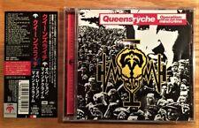 Queensryche - Operation Mindcrime + 2 Bonus Tracks (Japan Remastered CD w/ OBI)