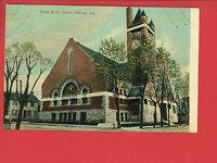 KOKOMO IN Indiana GRACE M.E. CHURCH POSTCARD