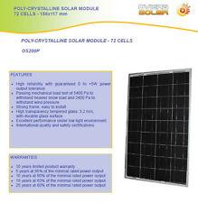200 Watt Solar Panel 12V * *Yes 12V  Jumbo Size  200W**