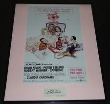 Blake Edwards Signed Framed 16x20 Pink Panther Photo Poster Display