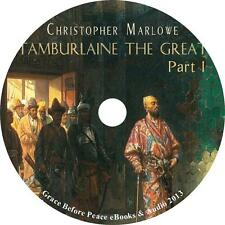 Tamburlaine the Great Pt. 1 Christopher Marlowe Elizabethan Audiobook 1 MP3 CD