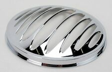 Arlen Ness Chrome Deep Cut Headlight Grill For Harley-Davidson Touring Models