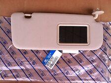 11 12 Hyundai Accent passanger side BEIGE sunvisor OEM NEW PT# 852201R110V2