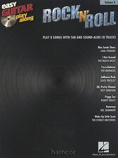Rock 'n' Roll Easy Guitar Play-Along Vol 4 TAB Book/CD Buddy Holly Carl Perkins