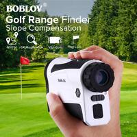 BOBLOV LF600AG 600M 6X Golf Range Finder Scope With Slope Function USB Charging