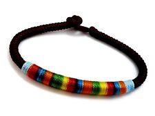 Arc-En-Ciel Lgbt Pride Gay Lesbienne Bracelet Corde Bracelet (Couleur Aléatoire)