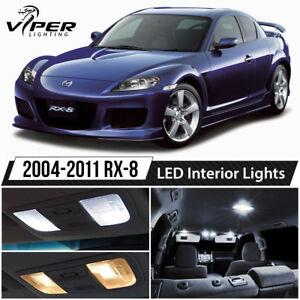 2004-2011 Mazda RX-8 White LED Lights Interior Package Kit