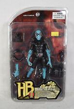 """Hellboy II 2 Abe Sapien 7"""" Action Figure 2008 Mezco BPRD Scanner Golden Army"""