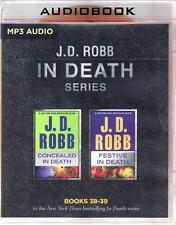 J D Robb In Death Series Books 38-39 Concealed & Festive Unabridged MP3 Audio