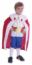 Toddler king fancy dress costume for child 2-4 yrs book week