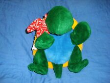 "DOMER TURTLE OFFICAL SKYDOME MASCOT PUPPET 11"" PLUSH"