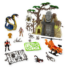 GIANT COBRA & TEMPLE - Animal Planet Play Set - Chap Mei - loose & complete