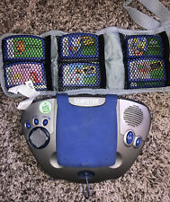 Leap Frog Leapster Learning Game System W/ 10 Games And Carrying Case For K-3rd