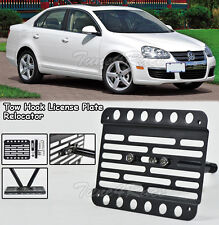 For 05-10 Volkswagen Jetta A5 Front Bumper Tow Hook License Plate Bracket Mount