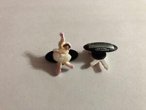 Ballerina Shoe-Doodle Ballerina Shoe Charm for Crocs Ballet Shoe Charms StB002