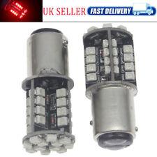 High Grade Led Error Free Red 380 Bay15d Rear Stop & Tail Light Bulbs 12v