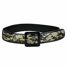 Unbranded Medium Width Belts for Women with Laces