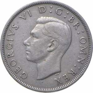 Better - 1950 Great Britain 1/2 Crown - TC *480