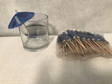 Absolut Vodka Glass & 50 Umbrella Cocktail Picks The Absolute Umbrella Stand New