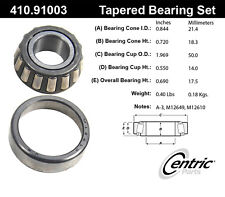 Centric Parts 410.91003E Front Outer Bearing Set