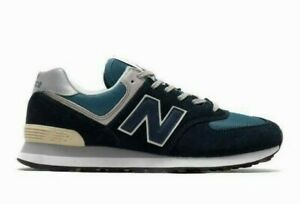 New Balance Men's 574 ESS Shoes NEW AUTHENTIC Navy/Blue ML574ESS