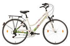 Cityrad Alu-Rahmen 28 Zoll Damen City Bike Papilio Weiss 6 Gänge RH 48 cm 634B