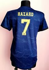 Real Madrid 2019 - 2020 Away football women Adidas shirt size M #7 Hazard