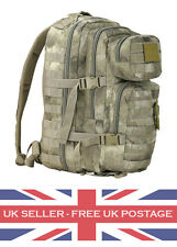 SMUDGE CAMO Molle Assault Pack 28L Military Army Patrol Rucksack Day Sack Pack