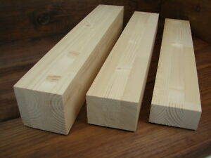 10x Brettschichtholz Leimholz Fichte 480 mm Leimbinder versch. Maße Holzklötze