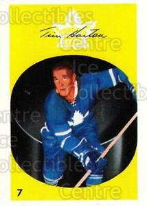 2001-02 Parkhurst Reprints #119 Tim Horton