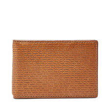 Fossil Original ML3916222 Coby RFID Money Clip Bifold Leather Men's Wallet