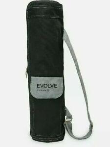 Evolve By Gaiam Yoga Mat Bag, Black/Grey