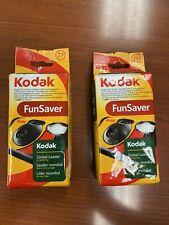 2 Kodak FunSaver 35mm Single Use Disposable Film Camera Exp 07/2012